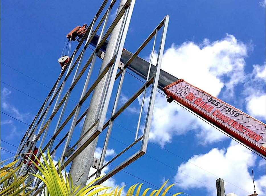 De Gama Construction Billboards in Suriname