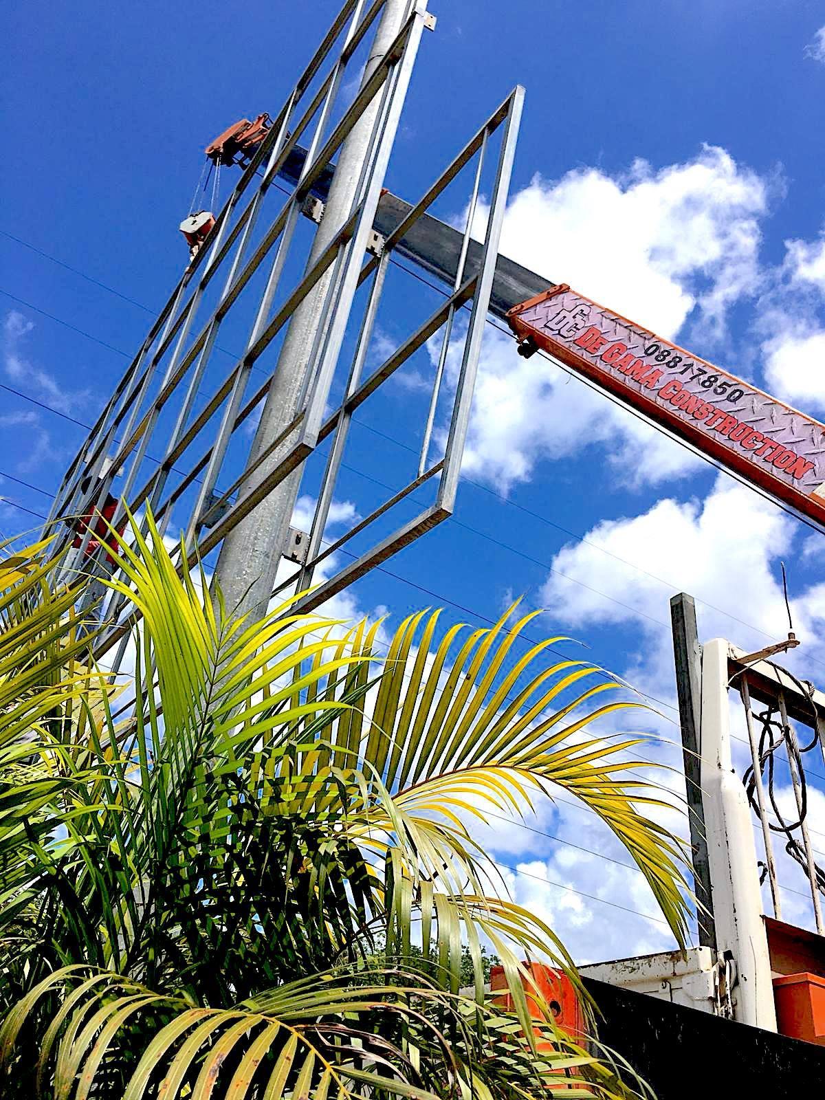 Billboard Constructie Suriname DGC