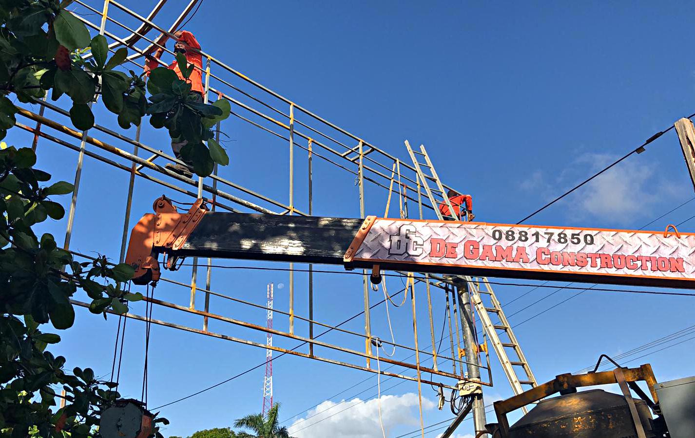 Billboard Constructie & Print Suriname