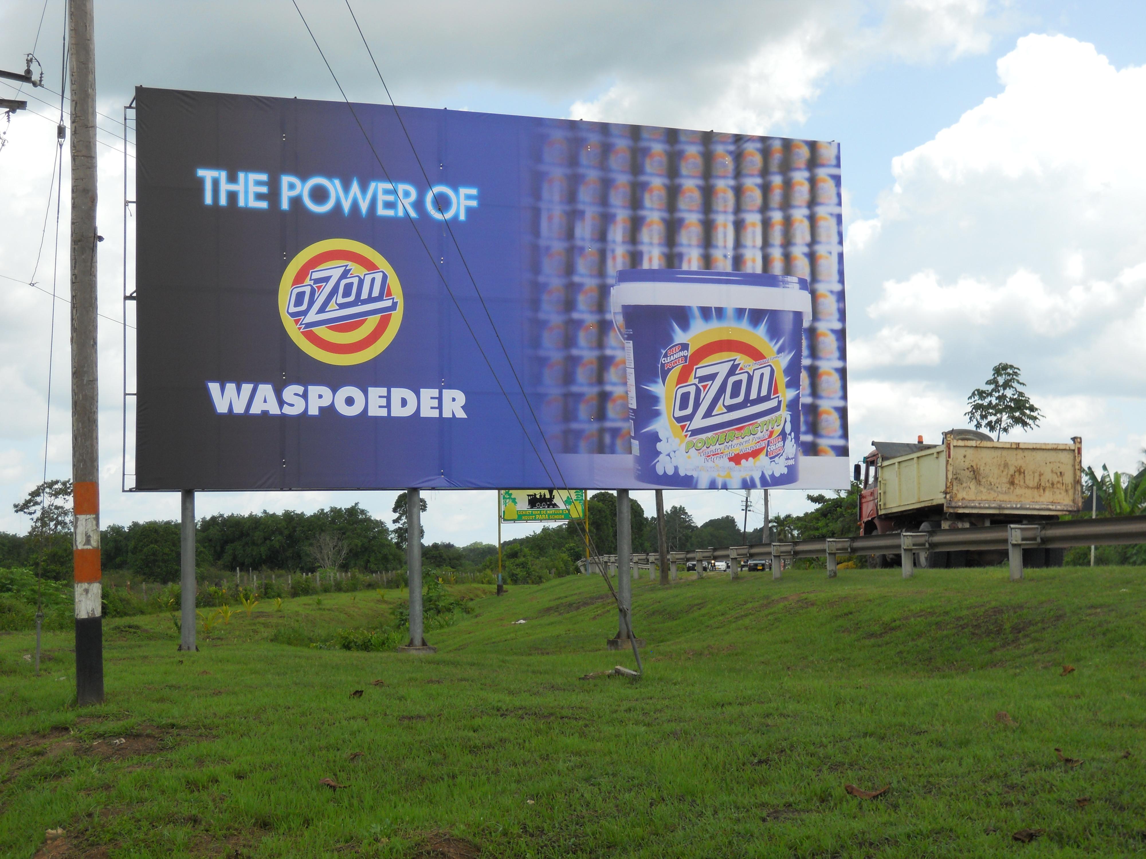 Billboard Print & Drukkerij Suriname