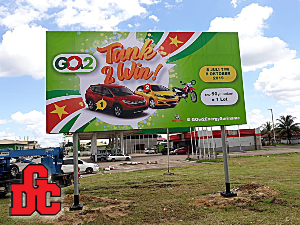 GOw2 Billboard Project Suriname