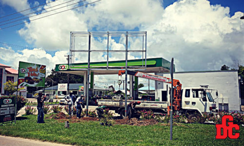 GOw2 Project Billboard in Suriname